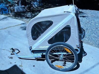 Croozer Dog Bike Trailer Pull Behind Bicycle Pet Carrier