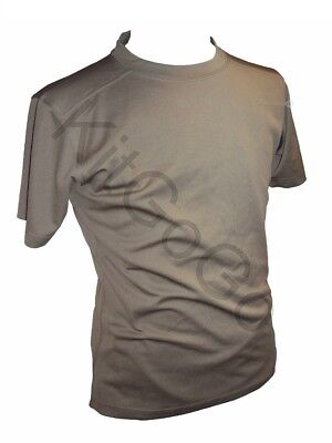 British Army Wicking T-Shirt Sage Green Quick Dry Fit Coolmax Sweat Wicking