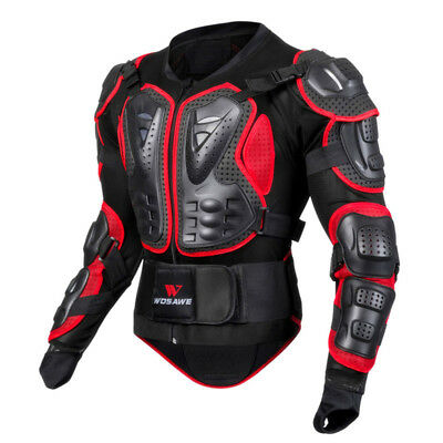 Motorcycle Motorcross Racing Full Body Spine Chest Protective Gear Armor Jacket