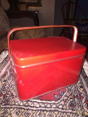 1950s Tin With Handle