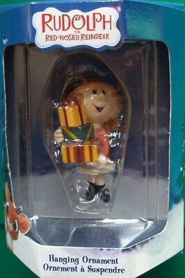 Girl Shopper Presents Ornament Rudolph Island of Misfit Toys Enesco Mint  in Box