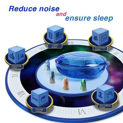 Soft Earplugs Sleep, Study ,Work Noise Reduction  Hearing Protection  Ear Plugs