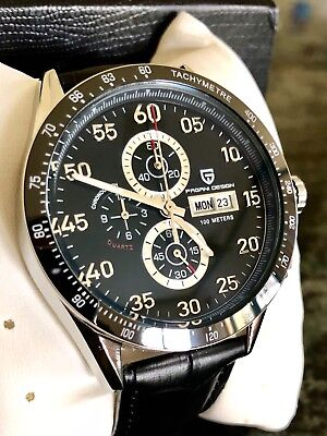 new pagani design chronograph watch ( homage to the famous tag