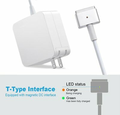 "45/60/85W Magsafe2 Fast Power Charger Adapter for Apple MacBook Pro 13"" A1435 DI"