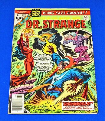 DR STRANGE King-Size Annual Issue #1 [Marvel 1976] VF- or Better!