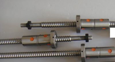 3 Double Ball nuts DFU ball screws 2005 -C7 for CNC4XR7 PM-727M