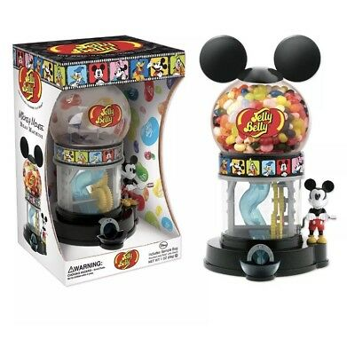 Disney World Mickey Mouse Jelly Belly Collectible Dispenser Candy Bean Machine