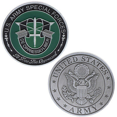 US American Army Special Forces Commemorative Coin Collection Arts Souvenir Gift