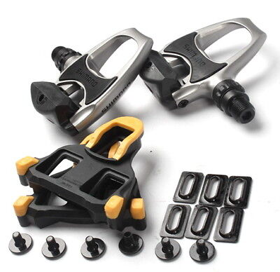 Road Bike pedal Shimano PD R540 SPD SL Clipless Road Pedals with Float Cleats