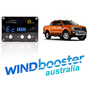 Windbooster C8 iDRIVE Throttle Controller to suit Ford Ranger PX 2011 - 2015