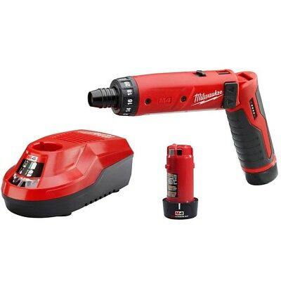 Milwaukee 2101-22 M4 4V Cordless Lithium-Ion 1/4 inch Hex Screwdriver Kit