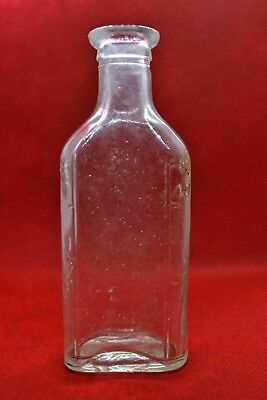3ii Vintage Glass Medical Bottle