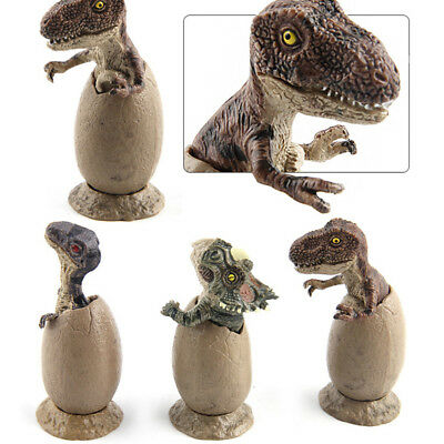 3PCS Jurassic Dinosaur Eggs Model Triceratops Eggs Novelty Collection Model''