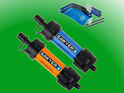 Orginal Sawyer Mini Wasserfilter Twin Set SP128 Wasseraufbereitung Water Filter