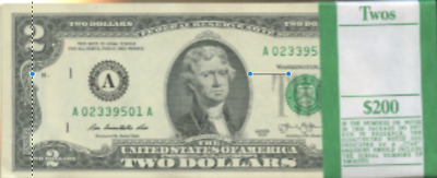 10 2.00 Bills Unc Ten Perfect Boston Two Dollar Notes Consecutive And Mint