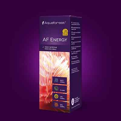 AF ENERGY . AQUAFOREST. Alimento para corales.10ml.
