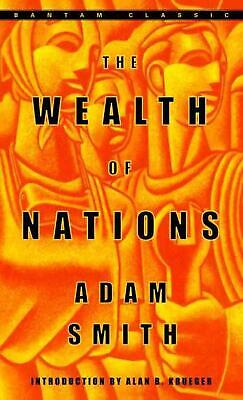 The Wealth of Nations by Adam Smith (English) Mass Market Paperback Book Free Sh