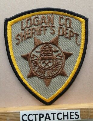 Logan County, Colorado Sheriff (Police) Shoulder Patch Co