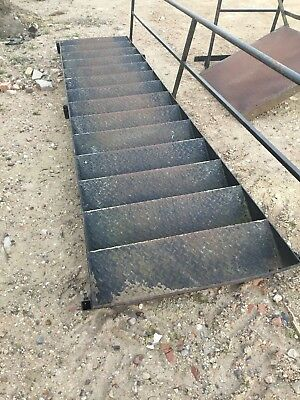 used steel staircase