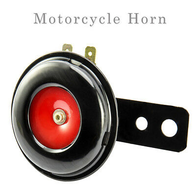 Loud Motorcycle Horn Scooter Bracket for Motorcycle Electric Bike 105dB 12V