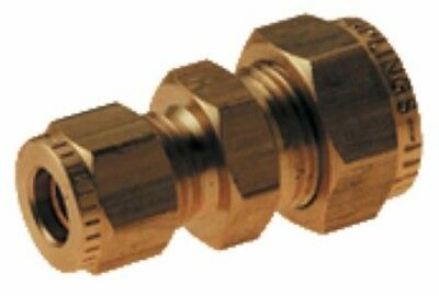 Wade Brass Compression Fitting – Imperial Reducing Coupling