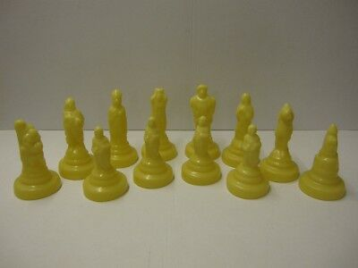 REF 0051 - 12 x SUPERCAST SHAKESPEARE NO 2 REUSABLE CHESS MOULDS MOLDS