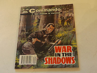 Commando War Comic Number 2369,1990 Issue,good For Age,27 Years Old,very Rare.