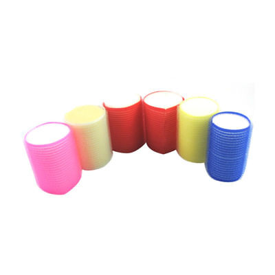 S/M/L New Nice 6pc Sleep In Cling Roller Sponge Foam Hair Tools Design