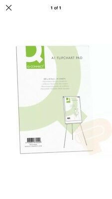 A1 Flip Chart Plain Paper Pad Punched For Flipchart Easels - BEST DEAL ON EBAY!