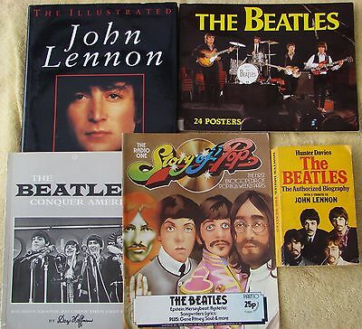 ♫ THE BEATLES 5 Beatles books - some rare - OOP - in good condition - lot 4 ♫