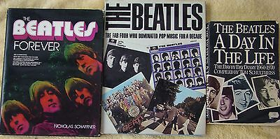 ♫ THE BEATLES  3 great books - some rare  OOP - good condition - lot 8 ♫