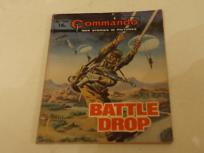 Commando War Comic Number 1580!!,1992,good For Age,26 Year Old Issue,v Rare.