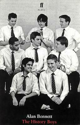 The History Boys: A Play by Alan Bennett (English) Paperback Book Free Shipping!
