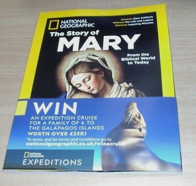 National Geographic magazine Special 2018 The Story of Mary; Biblical World to