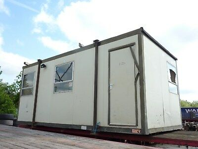 Portable Site Office, Cabin Building, Welfare Unit 20ft x 10ft
