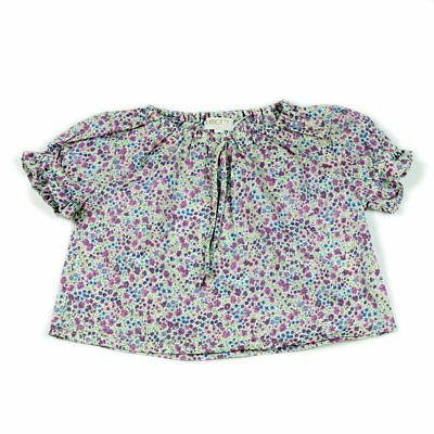 Girls Liberty Blouse. Age 0-3 months.