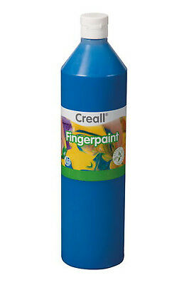 Creall 750 ml Flasche blau Havo Finger Paint Fingerfarbe NEU