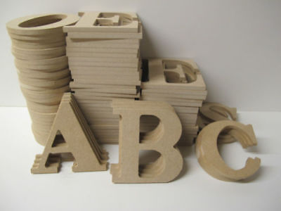 Wooden Letters Premium Quality 200mm High 6mm Thick Times Font