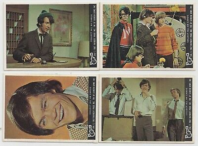 1967 Raybert Prod inc screen gems monkee cards lot of Four cards Excellent