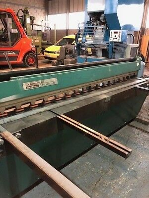 Edwards 3.25 x 2500mm Guillotine