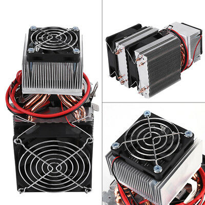 Semiconductor Refrigerator Air Conditioning Kit 12V Mini Fridge Cooling System