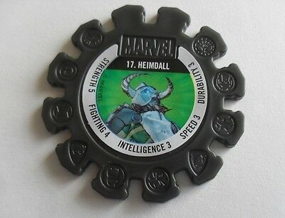 Marvel Heroes Super Disc No.17 Heimdall Black Collectable