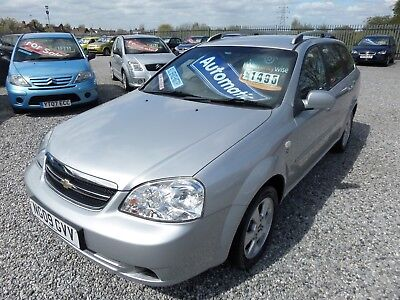 2009 Chevrolet Lacetti,estate,automatic,only 33K,full History,spares/repars