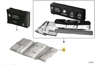 BMW Genuine Emergency First Aid Travel Kit in Transparent Bag 51477158344