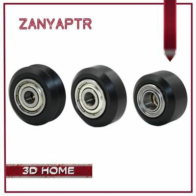 10pcs CNC Openbuilds Plastic wheel POM with 625zz MR105zz Idler Pulley Gear Pass