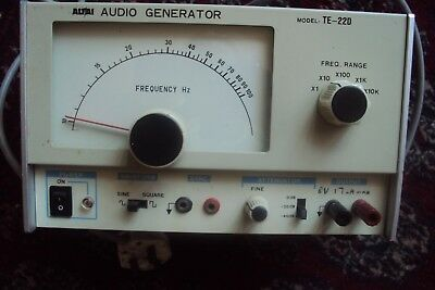 Altai TE-22 Audio Generator collection only