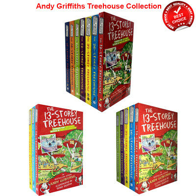 Storey Treehouse Series 1-7 Books Set Andy Griffiths and Terry Denton Collection