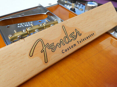Fender Custom Telecaster Decal 50´s Vintage Style (Metallic Gold Logo)