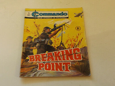 Commando War Comic Number 337!,1968 Issue,v Good For Age,50 Years Old,very Rare