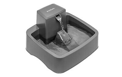5 Litre PetSafe Drinkwell Platinum Pet Water Drinking Fountain Suits Cats & Dogs
